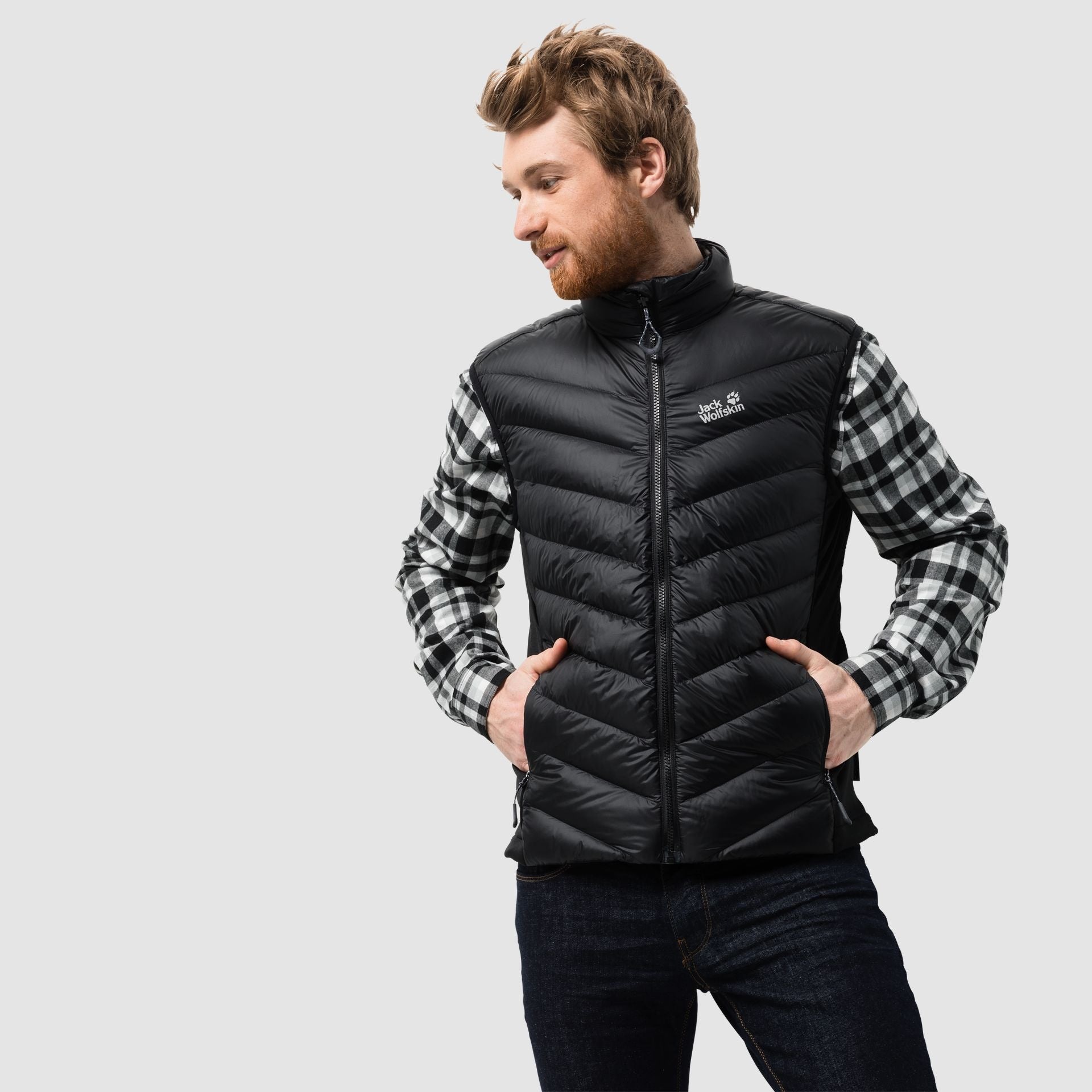 Jack Wolfskin Mens Atmosphere Vest
