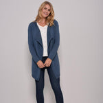 Brakeburn Marl Waterfall cardigan