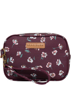 Brakeburn Floating Floral Small Washbag