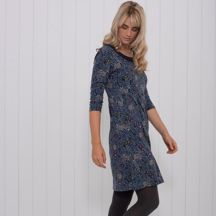 Brakeburn Trailing Leaf Dress