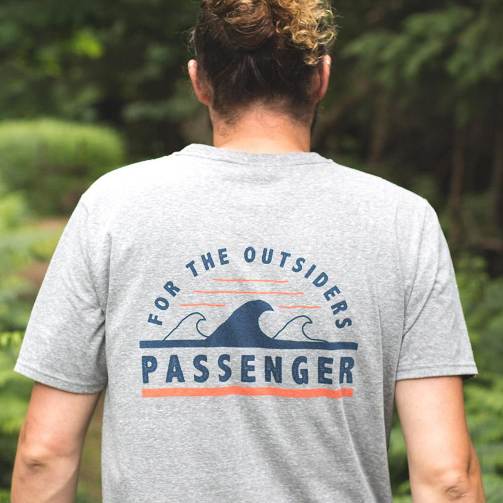 Passenger Tripped Out T-Shirt