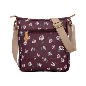 Brakeburn Floating Floral Cross Body Bag