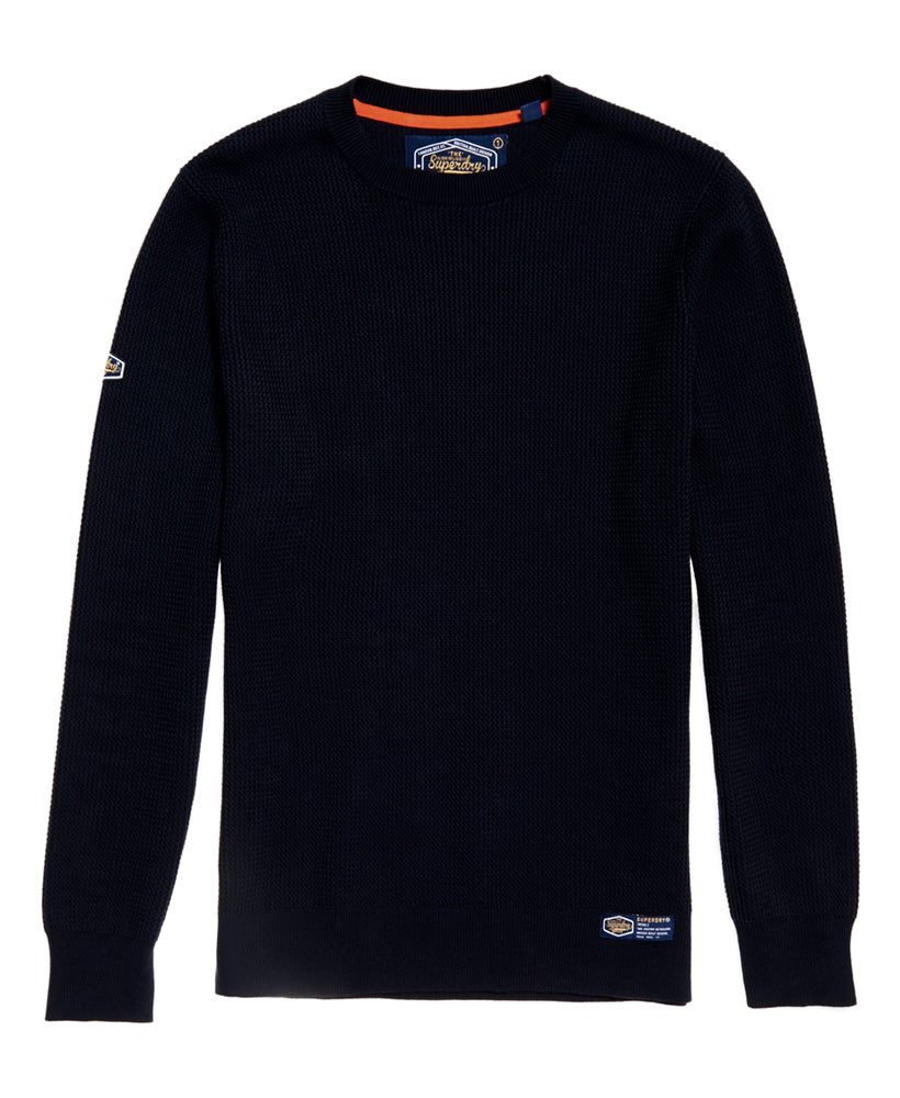 Superdry Academy Textured Crew