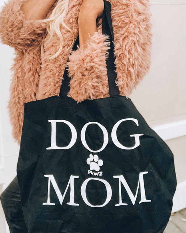 Pawz Black Dog Mom Tote - Pawz