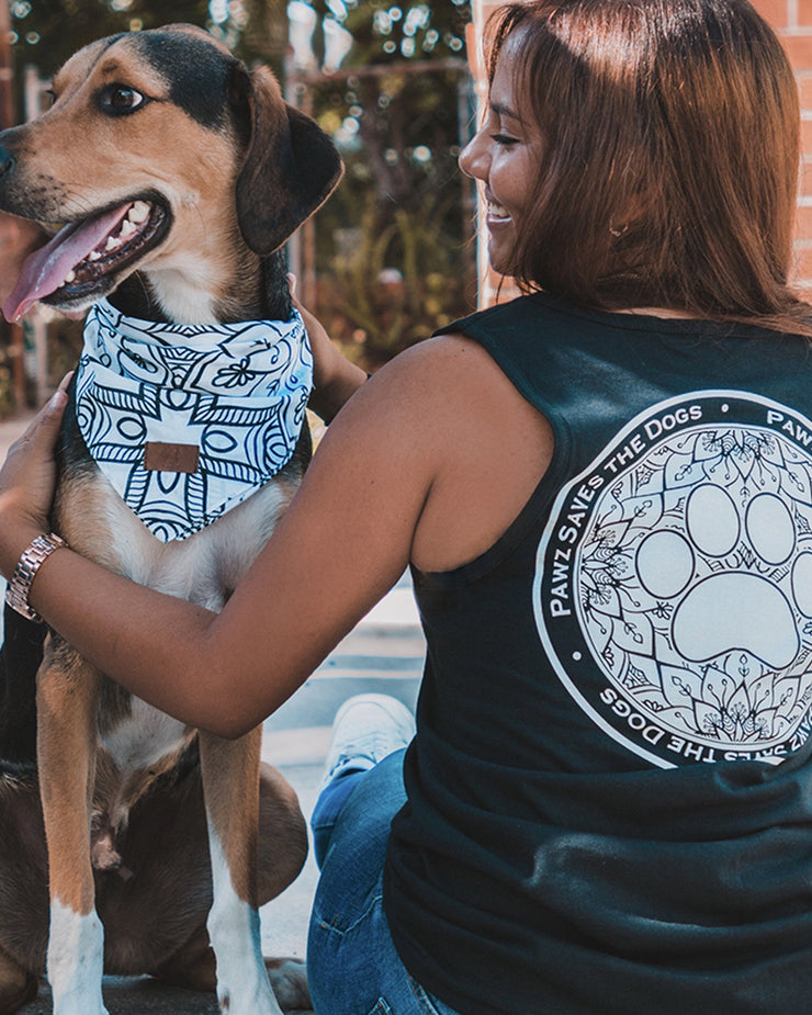 Black Lily Coin Tank Top - Pawz