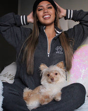 Black Pawz Varsity Matching Set - Pawz