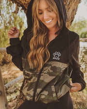 Black & Camo Pawz Windbreaker - Pawz