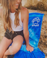 Blue Ocean Pawz Beach Towel - Pawz