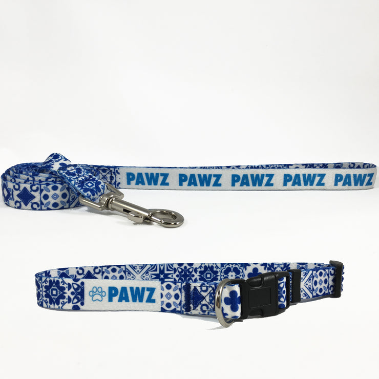 Hand Made Aztec Collar and Leash Set! - Pawz