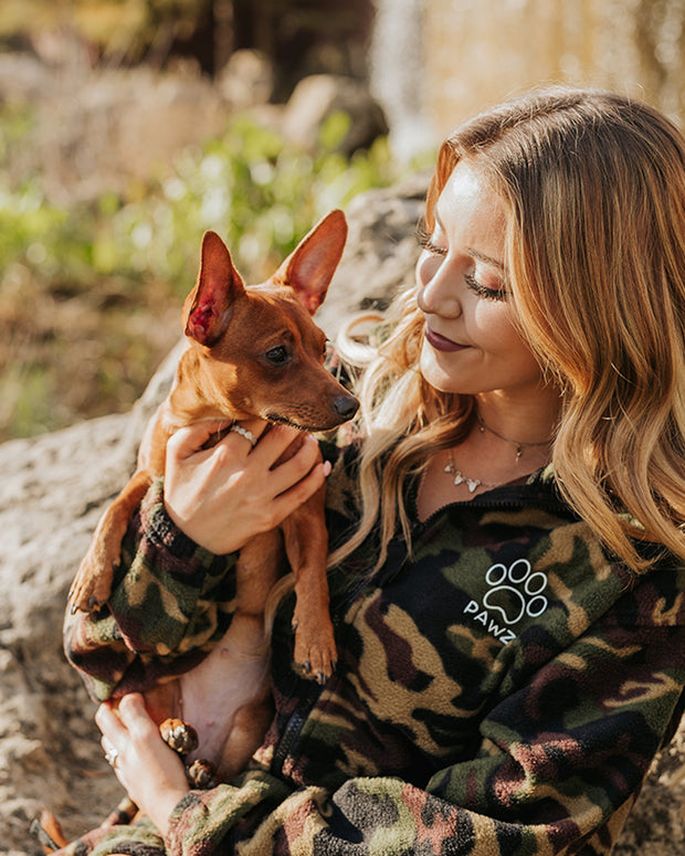 Pawz Camo Fleece Jacket - Pawz