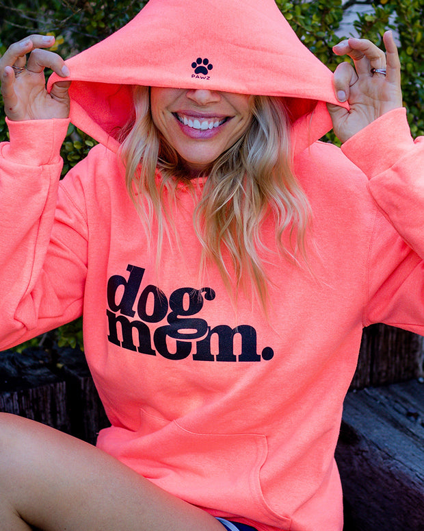 Pawz dog mom. Candy Orange Hoodie - Pawz