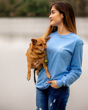 Carolina Ombre Flower Print Long Sleeve - Pawz
