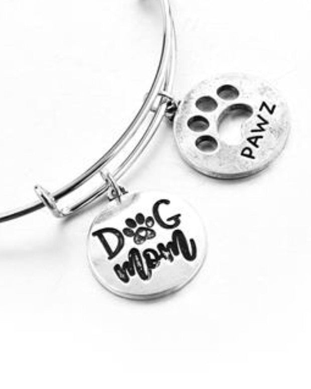 Pawz Dog Mom Bangle Bracelet - Pawz