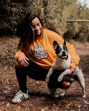 Pawz Dog Lover Gold Crewneck - Pawz