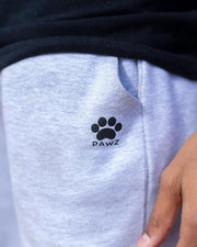 Pawz Men's Ash Fleece Shorts - Pawz
