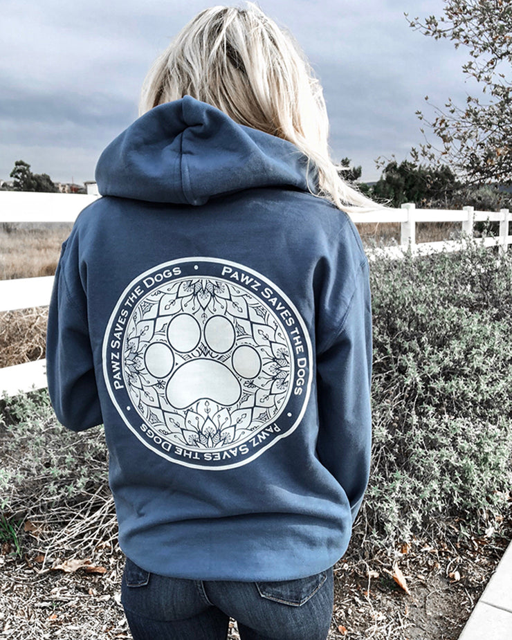 Hooded Indigo Lilly Coin Print - Pawz