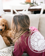 Pawz Lily Coin Maroon Long Sleeve - Pawz