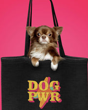 Pawz Mystery Stuffed DOG PWR Black Tote - Pawz