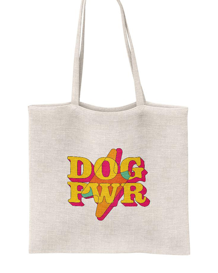 Pawz Mystery Stuffed DOG PWR White Tote - Pawz