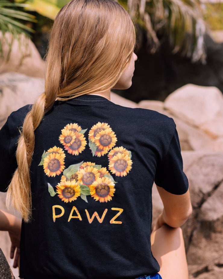 Pawz Sunflower Bouquet Black Crop - Pawz