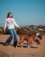 Pawz for All White Long Sleeve - Pawz