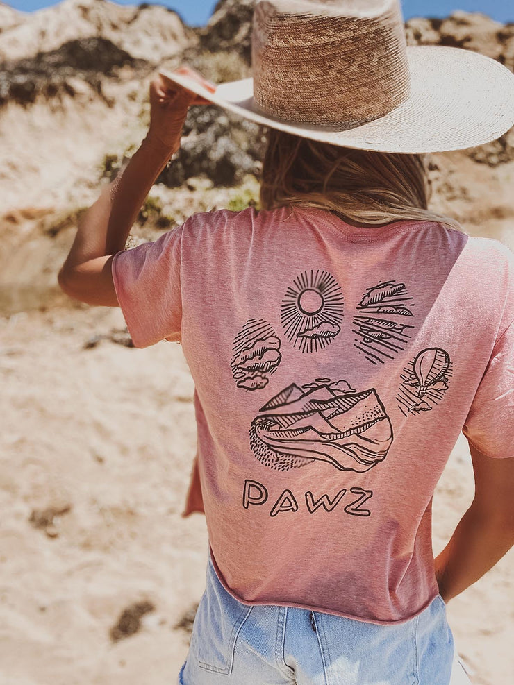 Pawz Desert Pink Hiking Crop - Pawz