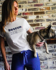 Pawz Rescue Heather Natural Tee - Pawz