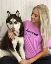 Pawz Rescue heather berry Tee