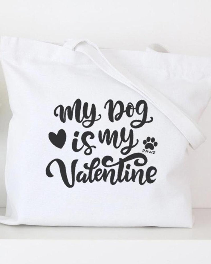 Pawz My Dog is My Valentine Mystery Stuffed Tote $120+ - Pawz