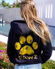 Pawz Yellow Beez Black Zip Up - Pawz