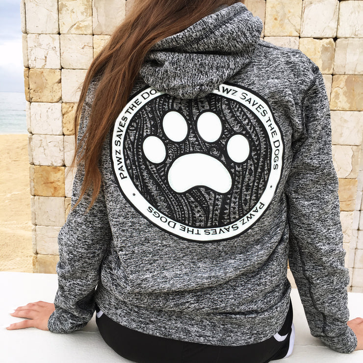 Graphite Coin Hoodie - Pawz