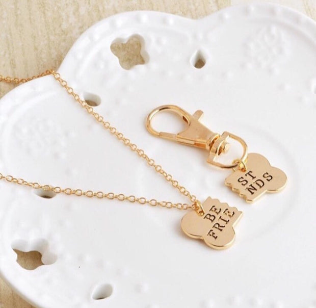 2pc Best Friend Necklace for you and your dog! - Pawz