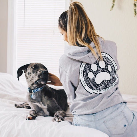 Striped Coin Hoodie - Pawz