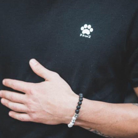 Men's Black Logo Tee - Pawz