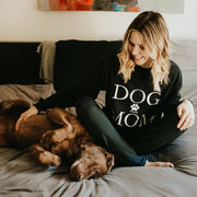 Pawz Dog Mom Black Long Sleeve - Pawz