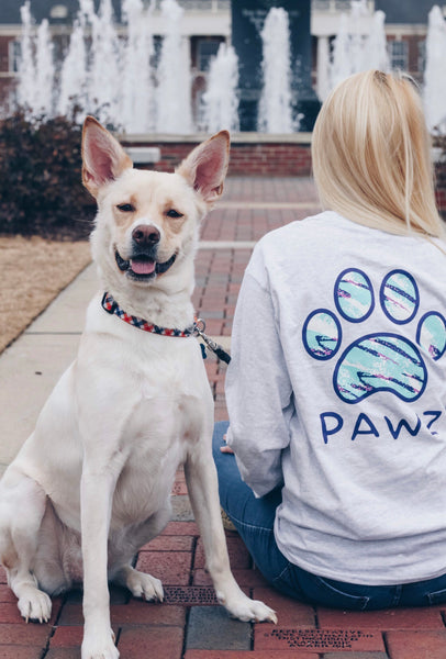 Long Sleeve Ash 90s Print - Pawz