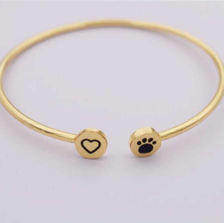 Simple Gold Bangle – Pawz