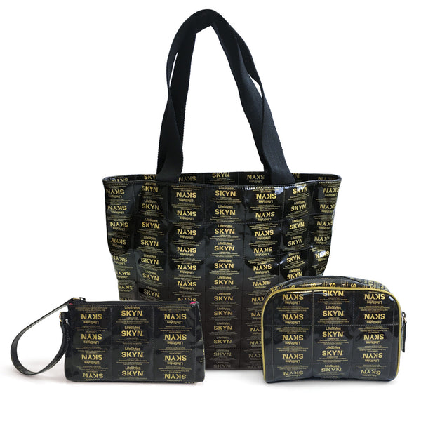Luxury SKYN Branded Foil bags
