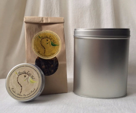Stackable Silver Storage Tin