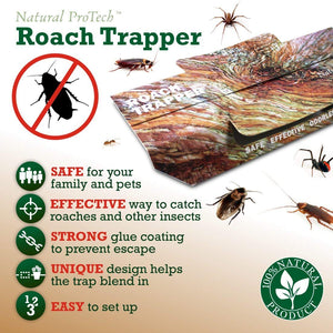 Cockroach Glue Traps Double Pack