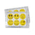 Mosquito Repellent nice smiley Stickers
