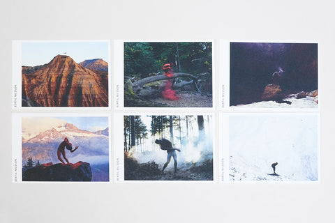 6 Naturally postcards pack
