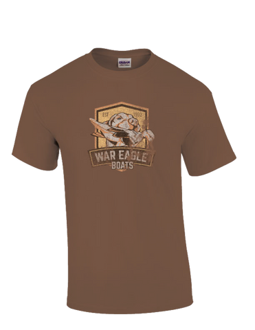 War Eagle Boats Lab Medallion T-Shirt