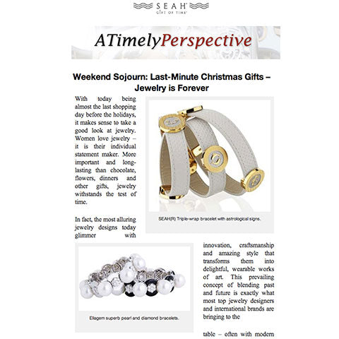 SEAH® Jewelry is the perfect last minute Christmas gift