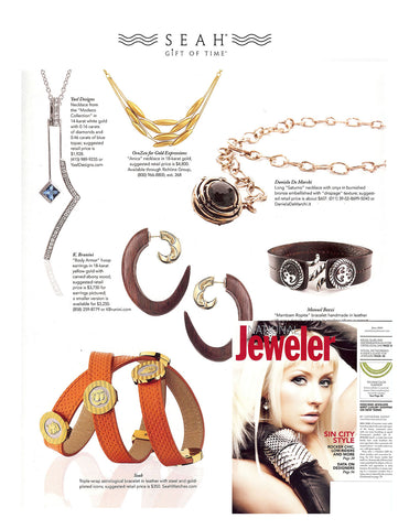 National Jewelry Magazine Features SEAH® Designs