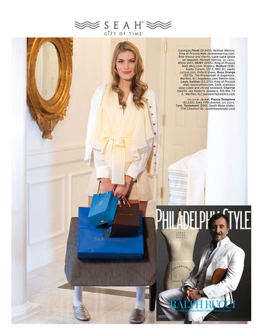SEAH® Wrap Leather Zodiac Bracelets in Philadelphia Style Magazine