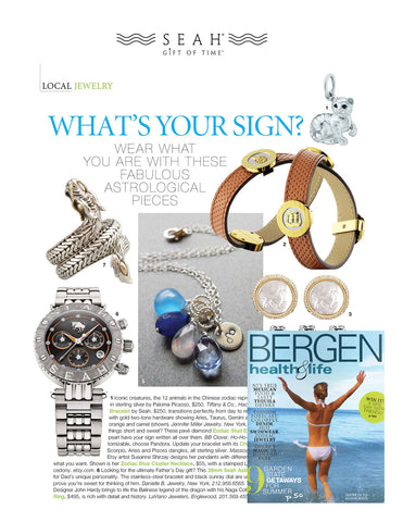 SEAH® Astronomy Bracelets in Bergen Health's June 2012 issue