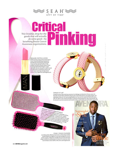 SEAH® Breast Cancer Bracelets in Aventura's October 2012 issue