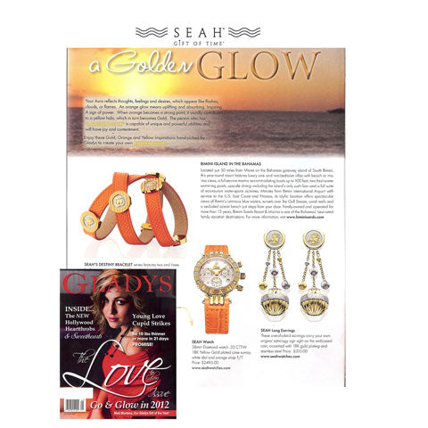 SEAH@ Jewlery featured in Gladys Magazine
