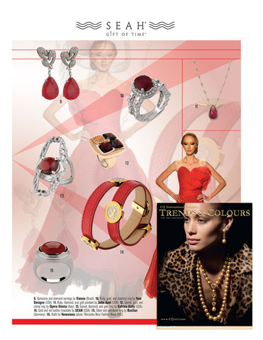 CIJ trends and colors features seah astonomy bracelet
